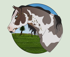 N3143 Lucky Charm [Natural Stallion] by Plants-And-Tattoos