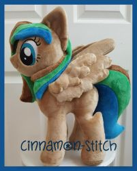 mlp plushie  commission OC Forest by CINNAMON-STITCH