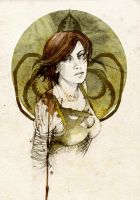 Asha Greyjoy by elia-illustration