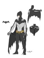 Batman 2.0 Re-Design by Janshi