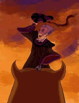 Frollo--WOOOHOOO by thenumber42