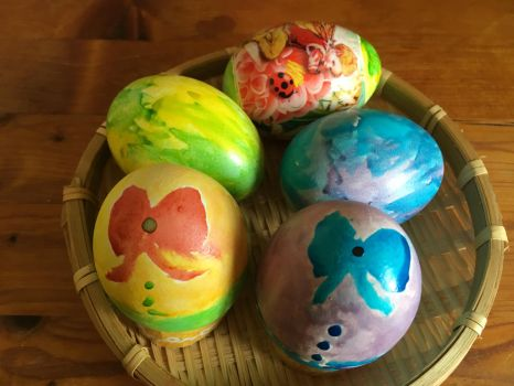 Annual Easter Egg work by Winxhelina
