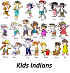 Kids Indians by vasilia95
