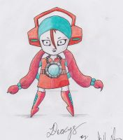 Deoxys Girl by neonaries300
