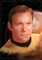 Captain James T. Kirk by Dahkur