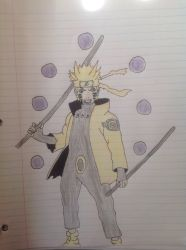 Naruto Six Paths Sage Mode Update by Faheem344
