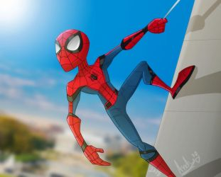 Spider-Man in Washington DC by botconboy