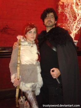 Jon Snow and Ygritte 01 - Game of Thrones Cosplay by trustysword