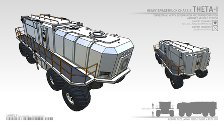 THETA heavy exploration vehicle by CMG-simplestuff