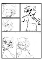 LOVELY PETS PAGE SKETCH 02 by chochi