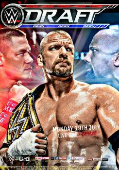 WWE Draft Poster 2016 by SidCena555