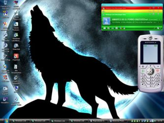 Desktop and 4 msn Color 8D by ynoxito