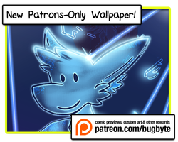 February Patron wallpaper: Victor by bugbyte