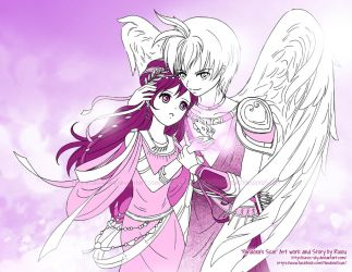 Pandora's Scar: Eros And Psyche by Oasis-sky