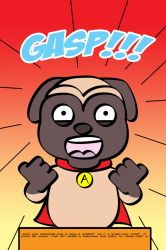 Awesome Pug Goes To Japan page13 by LapisRabbitComics