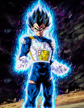 Vegeta New Transformaton by NARUTO999-BY-ROKER