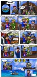 LOZ : Wind Vs Steam by Campanita42
