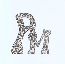 Typography Initials Project by xturkishx