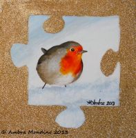 Robin puzzle by flysch