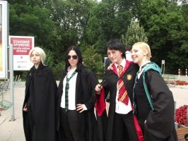 HP group - Snape is cool by Hermy46