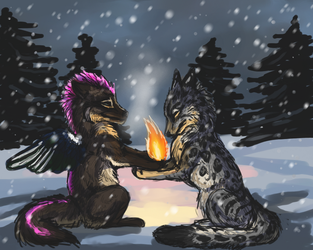 The Light Between Us by firedanceryote