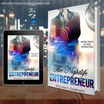 Book Cover Design for The Nightlife entrepreneur by MiloshJevremovic