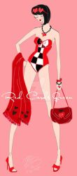 Red Cards Queen by E-Ocasio