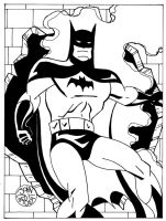 Batman Animated by Batman4art
