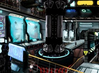 WFO - ExoBiology Research Lab by BioticShark