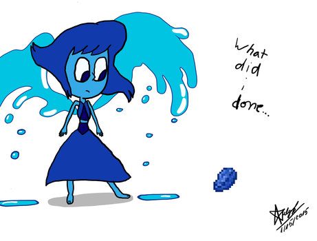 Lapis meets Lazuli by Iulykee