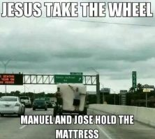 Jesus Take the Wheel by TheFunnyAmerican