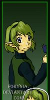 OoT Bookmarks - Saria by BeCeejed