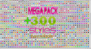MEGA PACK +300 STYLES PS by heymyidols