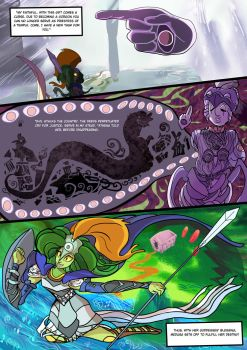 Medusa:Warrior of Justice the Graphic novel Pg 11 by BubbleDriver