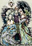 Gainsborough style party by john-n-mary