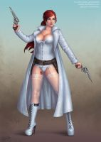 Christina Shepard the Gunslinger by Candra