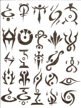 symbol tattoos by icemo