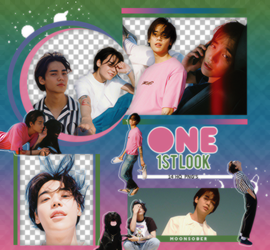 ONE(SOLIST) 1stLook-PNGPACK#1 by MoonSober