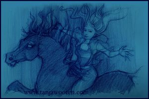 Kelpie Ride by tygriffin