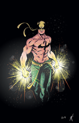 Iron Fist Colours by giantboydetective