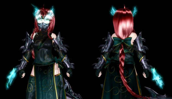 Hong Meiling - WIP II by Primantis