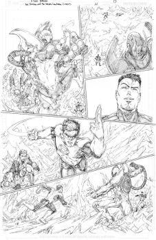 Hal Jordan and the Green Lantern Corps #21 page 13 by vmarion07