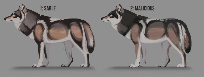 Dark and handsome wolf adopts: CLOSED by Chickenbusiness
