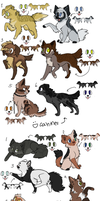 Dogs and Cats closed by Sukida-Adopts
