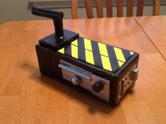 Ghostbusters ghost trap by ArtKing3000