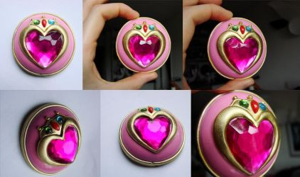 Chibi moon' brooch by clefchan