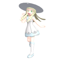[MMD] Lillie Preview by MMDSatoshi