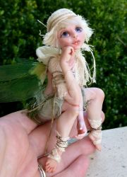 Polymer Clay Fairy by MysticReflections