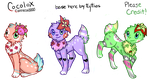 Cocolox Adoptables open!! 10 points! by AsilsAdopts
