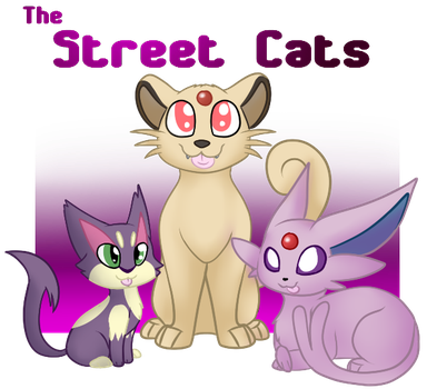 Street Cats RULE by SmolFennec